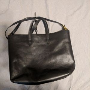 Madewell Zip-Top Transport Carry All in Black